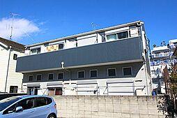 神奈川県川崎市多摩区東生田1丁目の賃貸アパートの外観