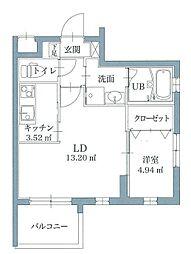 リアンレガーロ井尻ステーションEAST[3階]の間取り