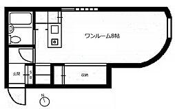 インナーコート経堂[1階]の間取り