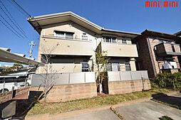 兵庫県伊丹市森本2丁目の賃貸アパートの外観