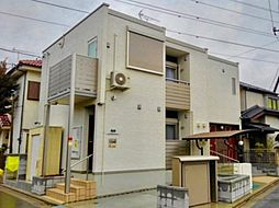 埼玉県川越市砂新田5丁目の賃貸アパートの外観