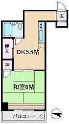 トーア駒込マンション[3階]の間取り