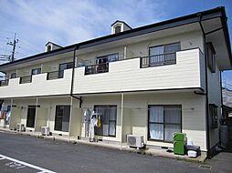 茨城県ひたちなか市高場3丁目の賃貸アパートの外観