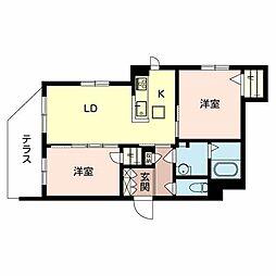 (仮称)堺市・堺区シャーメゾン五月町[1階]の間取り