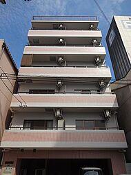 大阪府大阪市中央区上汐1丁目の賃貸マンションの外観