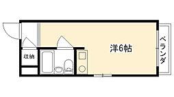 兵庫県西宮市今津水波町の賃貸マンションの間取り