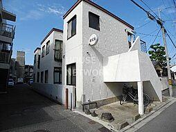 京都府京都市上京区毘沙門横町の賃貸アパートの外観