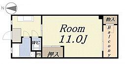 田中町住宅1号館[5階]の間取り