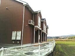 山口県美祢市大嶺町東分の賃貸アパートの外観