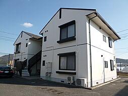 岡山県総社市清音柿木の賃貸アパートの外観