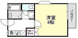 ボンマレ[102号室]の間取り