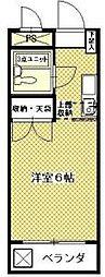 神奈川県川崎市多摩区西生田5丁目の賃貸マンションの間取り