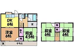 [一戸建] 愛媛県松山市西石井6丁目 の賃貸【愛媛県 / 松山市】の間取り