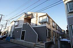 千葉県松戸市南花島2丁目の賃貸アパートの外観