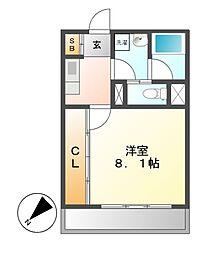 マンション385[11階]の間取り