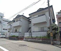 京都府京都市中京区西ノ京原町の賃貸アパートの外観