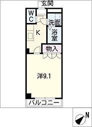 クレストール[2階]の間取り