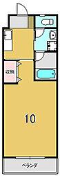 CasaGrande西賀茂[206号室]の間取り