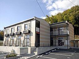 広島県福山市奈良津町2丁目の賃貸アパートの外観