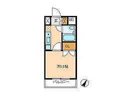 コンフォール小泉[5階]の間取り