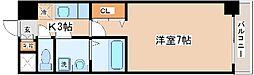 兵庫県神戸市中央区八雲通1丁目の賃貸マンションの間取り