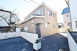 埼玉県川越市今福の賃貸アパートの外観