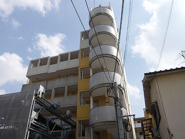 グランコートB棟[2階]の外観