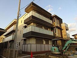 京都府宇治市神明石塚の賃貸アパートの外観