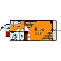 レジディア木場[3階]の間取り
