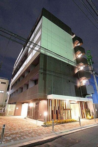 東京都品川区南品川6丁目の賃貸マンションの画像
