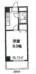 アリエル三田[4階]の間取り