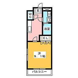 MUSE[1階]の間取り