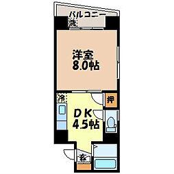 三愛ビル7[305号室]の間取り
