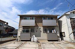 福岡県北九州市戸畑区中原東1丁目の賃貸アパートの外観