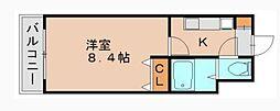 オネスト吉塚[6階]の間取り