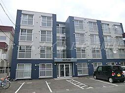 北海道札幌市東区北三十一条東17の賃貸マンションの外観