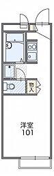 レオパレスファザーンA[1階]の間取り