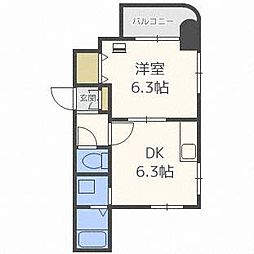 DEVEX282[6階]の間取り