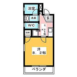Villa Cocoon Shizuoka[1階]の間取り