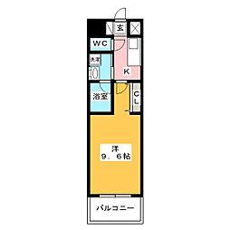 ArtizA上前津II[11階]の間取り