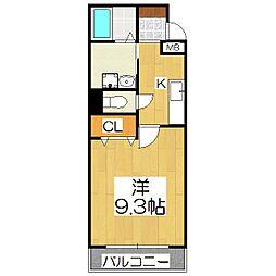 folding villa[1階]の間取り