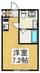 プレミアハイツ清瀬[2階]の間取り