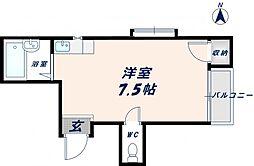 メゾンモア[3階]の間取り