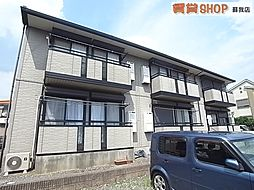 千葉県千葉市中央区大森町の賃貸アパートの外観