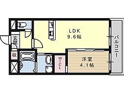 (仮称)高槻市城北町一丁目新築マンション[0201号室]の間取り