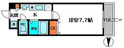エムプラザ蒲生四駅前[2階]の間取り