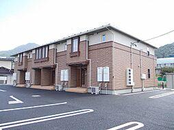 長野県須坂市大字日滝の賃貸アパートの外観