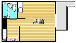 ユースフル駒沢大学[4階]の間取り