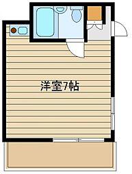 新清ハイツ[1階]の間取り