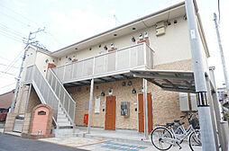 埼玉県草加市住吉2の賃貸アパートの外観